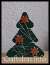 Cork   Christmas Tree Ornament