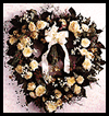 English   Rose And Ivy Wreath