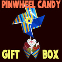 Making a Valentines Day Pinwheel Sweet Candy Gift Box Craft for Kids