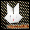 How to Make Origami Rabbits Heads Craft for Chinese New Year
