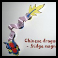 How to Craft a Chinese Dragon Fridge Magnet Craft for Chinese New Year