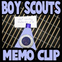 How to Make a Boy Scouts Memo Holder Crafts Activity