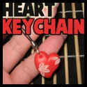 How to Make a Polymer Clay Heart Keychain Crafts