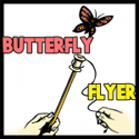 How to Make a Flying Butterfly Toy that Flies up to 15 Feet