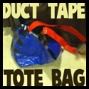How to Make Duct Tape Tote Bags with Easy Steps Crafts Tutorial