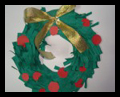Christmas Paper Wreaths Craft for Kids