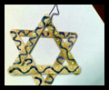 How to Make Hanukkah Decorations Star Ornaments