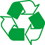 Recycled Materials Logo Icon