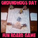 Make a Groundhogs Day Board Game Crafts Idea for Kids