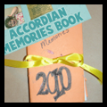 Making a New Years Memory Accordion Pocket Book to Hold Precious Memories