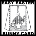 How to Make a Stand Up Easter Bunny Card for Young Children & Preschoolers