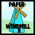 How to Make Paper Windmills with Paper Modelling Craft Instructions