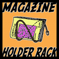 Make Newspaper or Magazine Holder Rack for Dad on Father's Day