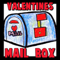 How to Make a Valentines Day Mailbox with Movable Flag Crafts Project