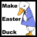 Make Easter Baby Duck Paper Folding Craft for Kids
