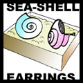 Make Earrings with Sea Shells for Mom on Mothers Day