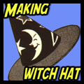 Make Witch's Hat for Your Halloween Witch Costume with This Crafts Idea