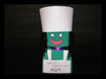 Make a Mothers Day Foam Chef Doll Gift for Moms Who Like to Cook