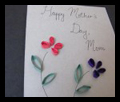 Make Mom a Mother's Day Flower Card Crafts Activity for Kids
