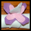 Easter Napkin Rings Crafts Table Decoration Ideas for Boys and Girls