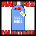 Making Cute US Mailbox with Heart Letter Valentines Day Cards