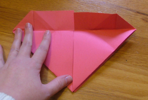Easy Origami Heart Paper Folding Origami Craft For Kids Kids