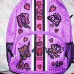 How to Draw on and Decorate Your School Book Bags and Back Packs