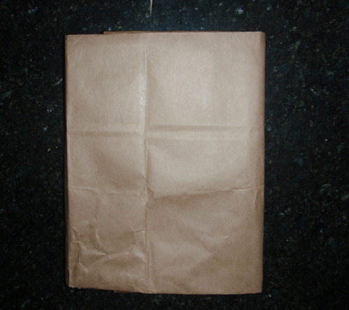 How to Make a Comics Covered School Book Cover with a Brown Grocery Bag