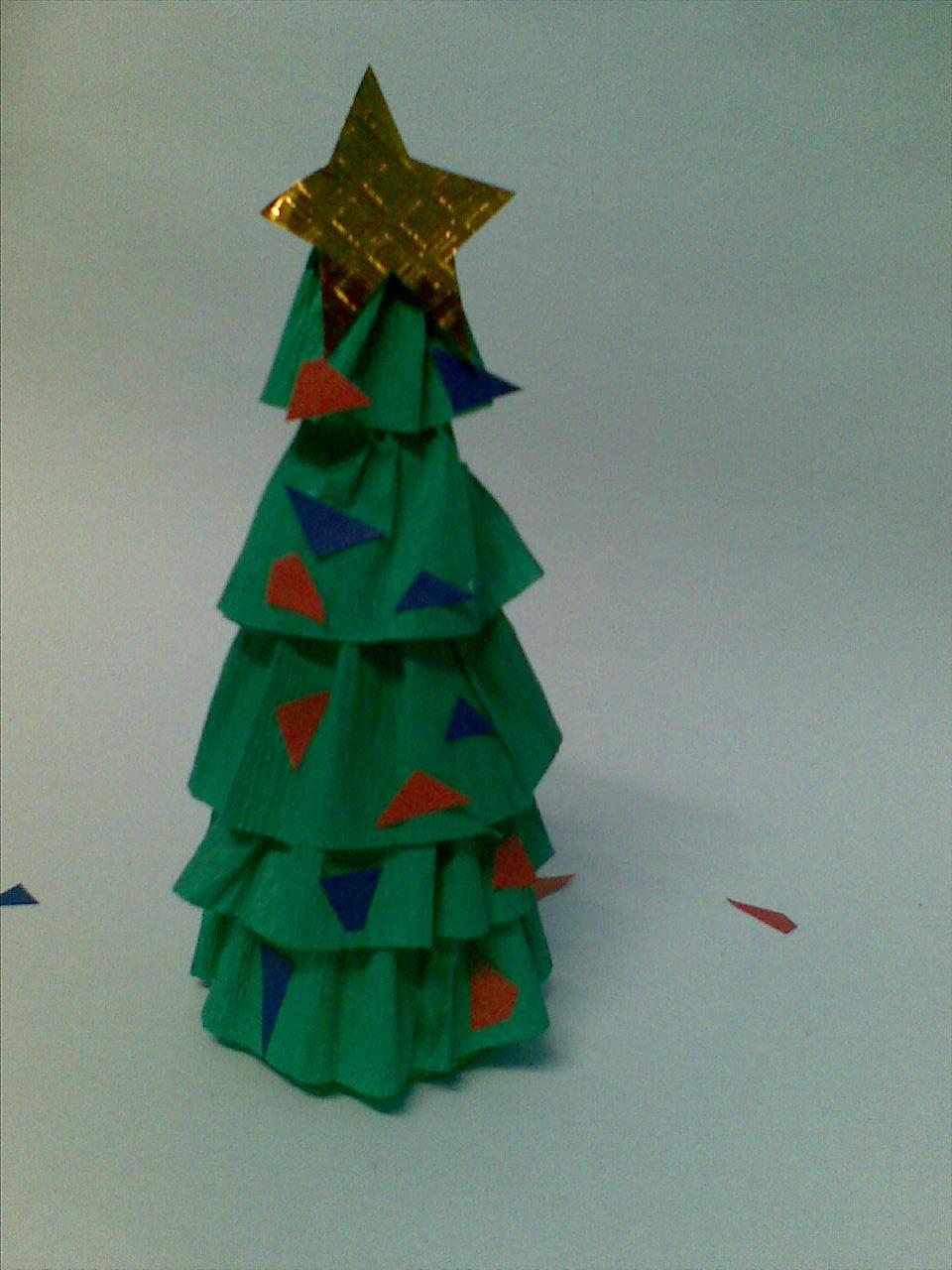 Make A Mini Christmas Tree Arts Amp Crafts Project