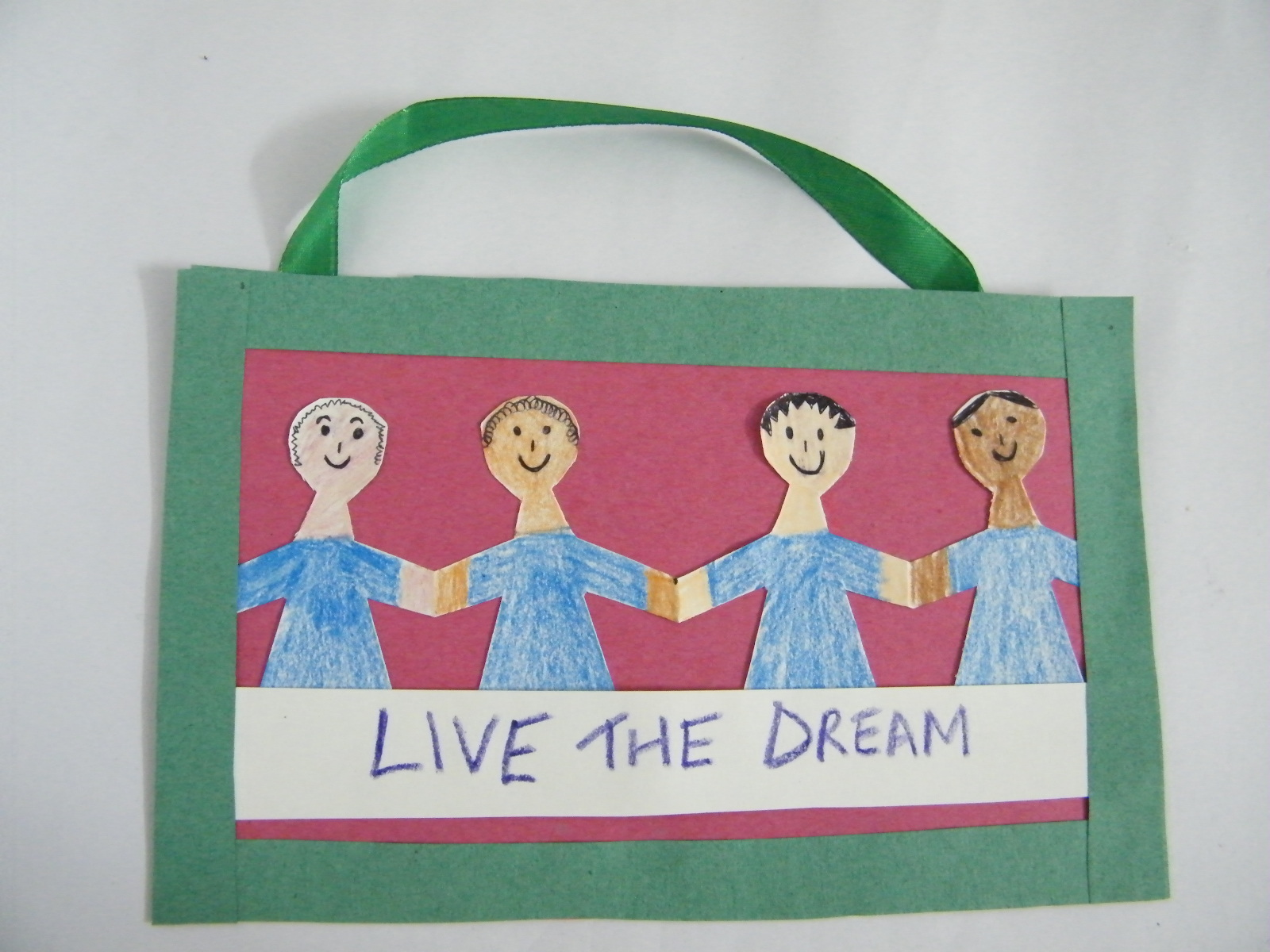 Martin Luther King Day Poster Arts Crafts Activity For Kids Kids