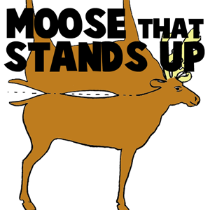 Moose Stand-Up Paper Toy Model to Print Out Craft for Kids