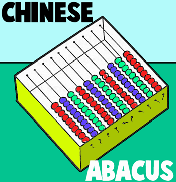How to Make Chinese Abacus fro Chinese New Year or 100th Day of School