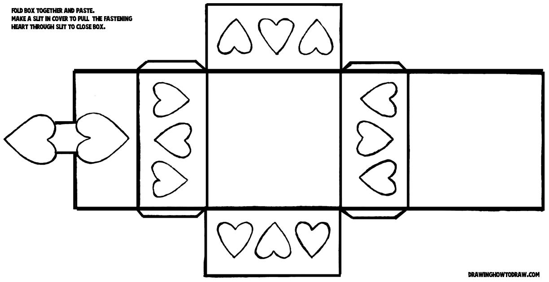 Heart box template by disdaindespair. Deviantart. Com on @deviantart.