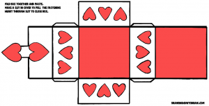 Valentines Day Hearts box-pattern-color-8x14