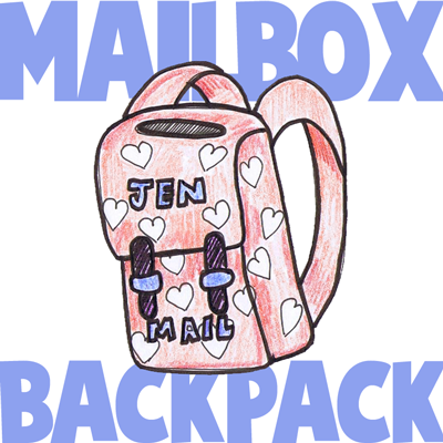 How to Make Valentines Day Mailbox Backpack with Cereal Boxes Crafts Idea for Kids