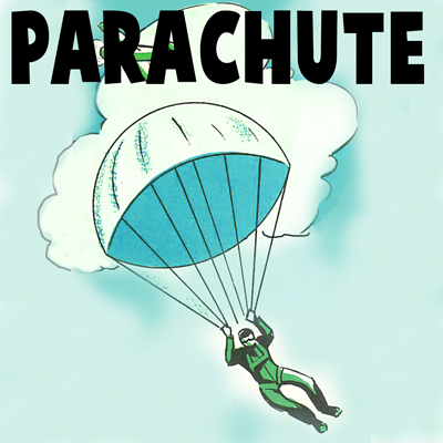 How to Make a Toy Soldiers Parachute with a Paper Napkin Crafts Idea