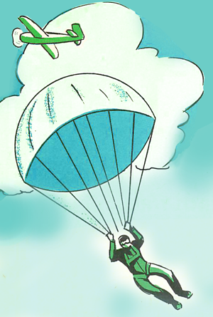 How to Play With Your Toy Soldier Guy's Parachute