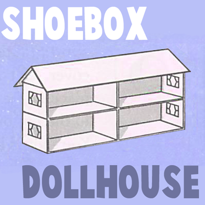 How to Make a Shoe Box Doll House Arts and Crafts Project for Kids