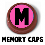 Making a Memory Game from Bottle Caps with Printables and Instructions for Kids