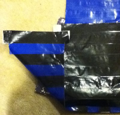 Step 3 : Making Duct Tape Tote Bags Kids Arts and Crafts Instructions
