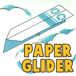 How to Make a Paper Airplane Glider in Easy Illustrated Steps Craft for Kids