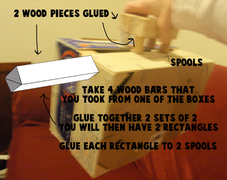 Step 7 : Making Wooden Suitcases Arts and Crafts Idea for Kids