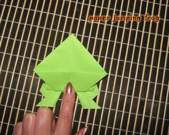 How To Make A Paper Jumping Frog Kids Crafts
