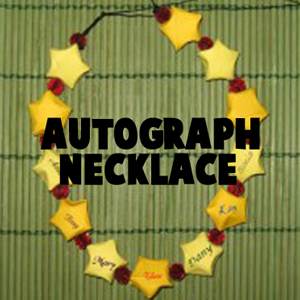 How to Make Autographed Friends Necklaces on Last Day of School or Camp