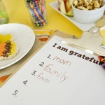 Ideas for Crafty & Creative Thanksgiving Kids' Tables