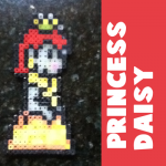 How to Make Princess Daisy from Super Mario Bros. with Perler Beads