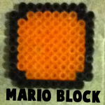 How to Make the Blocks from Super Mario Bros. with Perler Beads