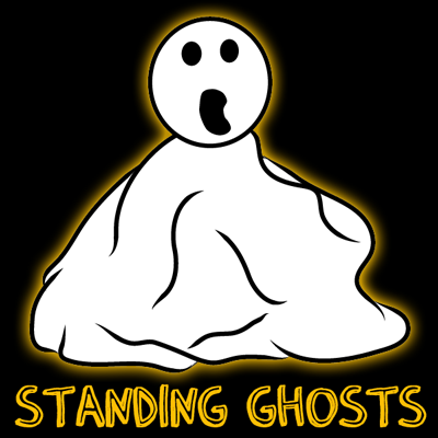 How to Make Standing Ghosts for Halloween