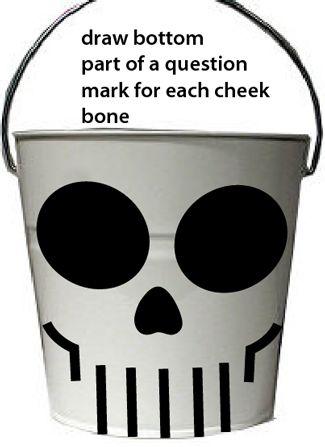 Draw a bottom part of a question mark for each cheek bone