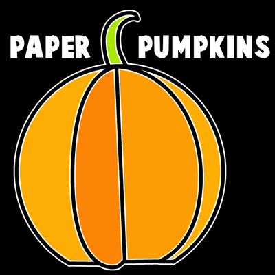 How to Make Paper Pumpkins for Halloween